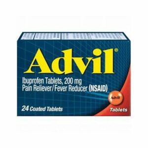 Advil Ibuprofen 200mg 24 Capsules