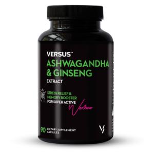 Versus Ashwagandha and Ginseng
