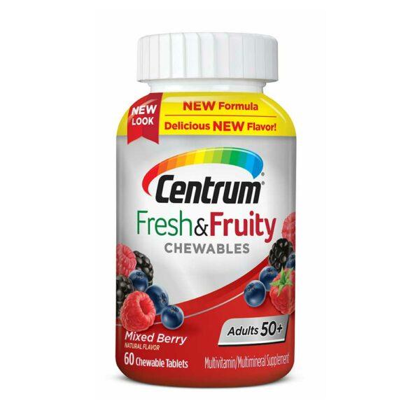Centrum Fresh & Fruity Chewable 60 tablets (50+)