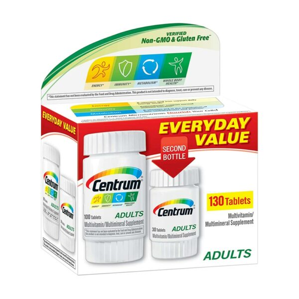 Centrum Adults Complete Multivitamin 130 Tablets