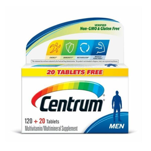 Centrum Men Complete Multivitamin 140 Tablets