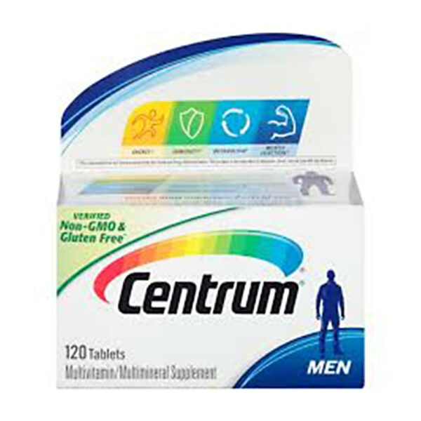 Centrum Men Complete Multivitamin 120 Tablets