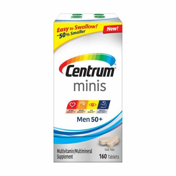 Centrum Minis Men 50+ Multivitamin 160 Tablets