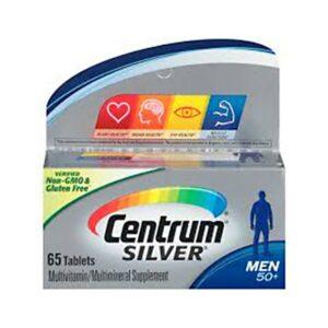Centrum Silver Men 50+ Multivitamin 65 Tablets