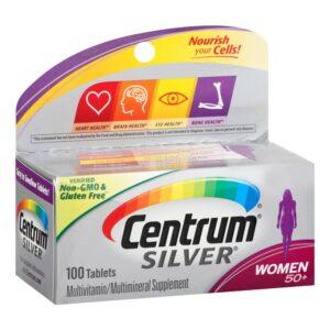 Centrum Silver Ultra Women 50+ Complete Multivitamin 100 Tablets