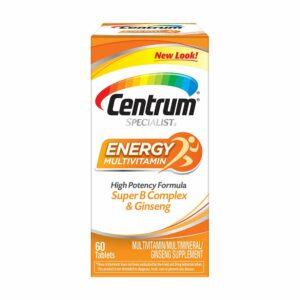 Centrum Specialist Energy Multivitamin Adult 60ct