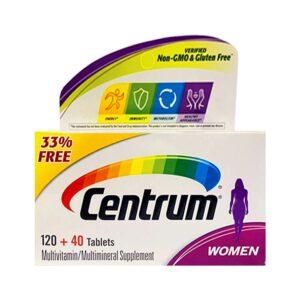 Centrum Women Complete Multivitamin 160 Tablets
