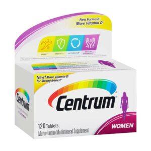 Centrum Women Complete Multivitamin 120 Tablet