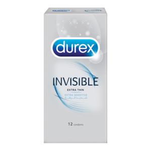 Durex Invisible Extra Thin Condoms 12 Pack