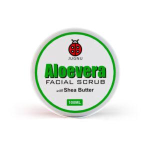 ALEOVERA FACIAL SCRUB (WITH SHEA BUTTER)