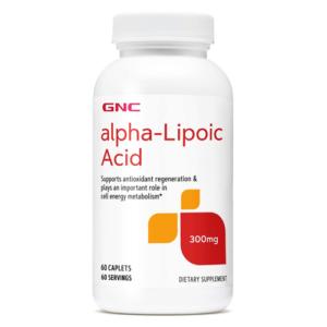 GNC Alpha Lipoic Acid 300mg 60 Ct