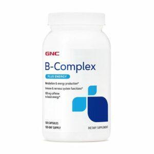 GNC B-Complex Plus Energy 120 Capsules
