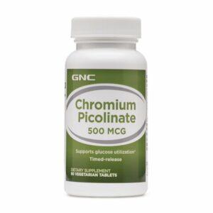 GNC Chromium Picolinate 500mcg 90 Tablets