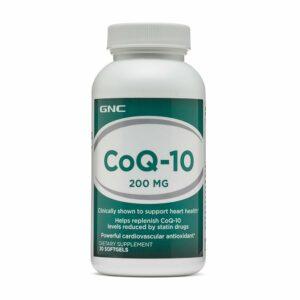 GNC CoQ10 200mg 30 Softgels