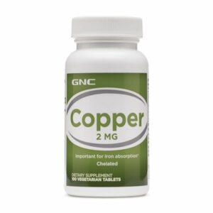 GNC Copper 2mg 100 Tablets