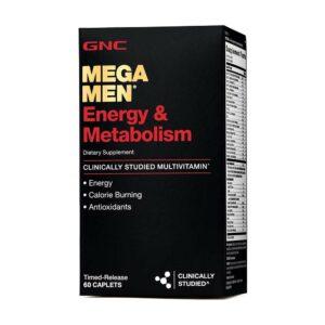 GNC MEGA MEN Energy and Metabolism 60CT - vitamins-house
