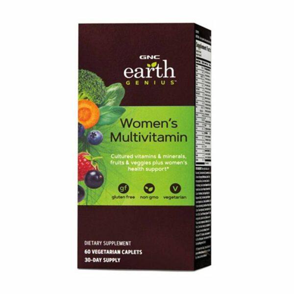 GNC Earth Genius Women's Multivitamin 60 Caplets