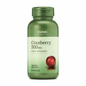 GNC Herbal Plus Cranberry 500mg 90 Capsules