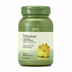 GNC Herbal Plus Tribulus 1000mg 90 Capsules