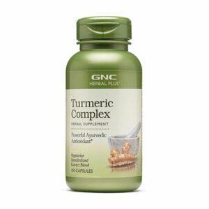 GNC Herbal Plus Turmeric Complex 100 Capsules