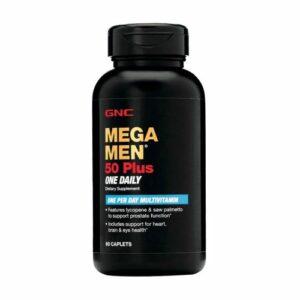 GNC MEGA MEN 50 Plus One Daily 60 Caplets
