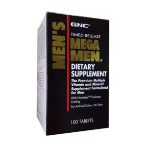 GNC Mega Men Time Release 100CT