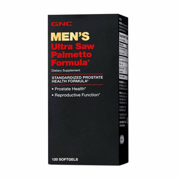 GNC Men's Ultra Saw Palmetto Formula 120CT