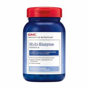 GNC Multi Enzyme Formula 90 Capsules
