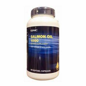 GNC Salmon Oil 180 Softgels