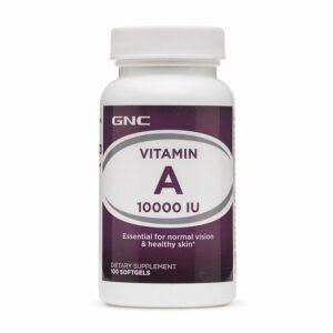 GNC Vitamin A 10000 IU 100 Softgels