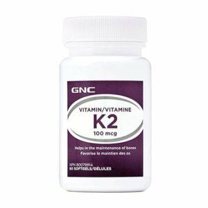 GNC Vitamin K2 100mcg 60CT