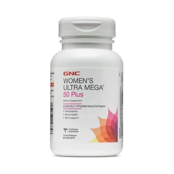 GNC Womens Ultra Mega 60 Caplets