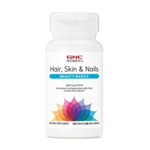 GNC Women's Hair, Skin & Nails Beauty Basics 120CT