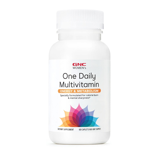 GNC Women's One Daily Multivitamin Energy & Metabolism 60Ct
