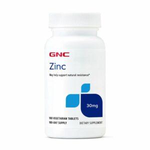 GNC Zinc 30mg 100 Tablets