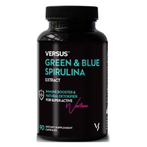 Versus Green and Blue Spirulina