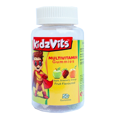KidzVits Multivitamin 50 Gummies