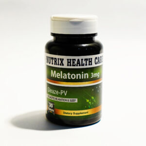 Nutrix Melatonin 3mg 30 Tablets