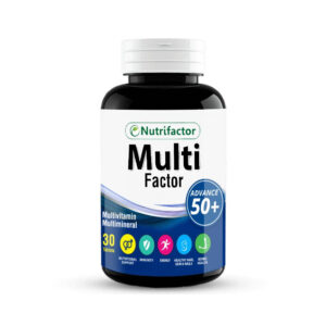 Nutrifactor Multifactor Multivitamin 50+, 30 Ct