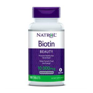 Natrol Biotin 10000mcg 100ct