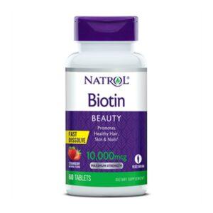 Natrol Biotin Beauty 10,000 mcg 60 ct