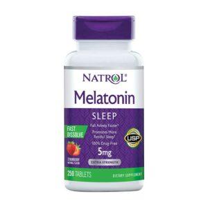 NATROL Melatonin 5mg 250 tablets
