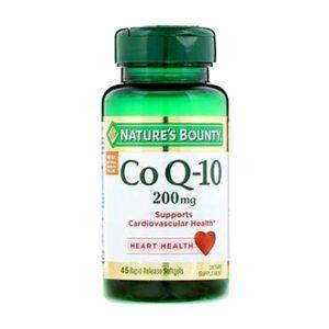 Nature's Bounty CoQ10 200mg 45 Softgels