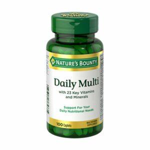 Nature's Bounty Daily Multi 100 Caplets