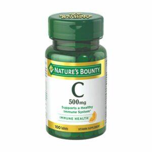 Nature's Bounty Vitamin C 500mg 100CT