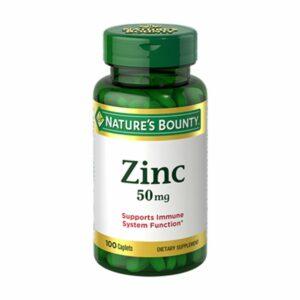 Nature's Bounty Zinc 50mg 100ct