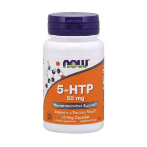 NOW 5-HTP 50mg, 30 Ct