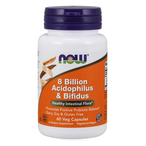 NOW 8 Billion Acidophilus & Bifidus Probiotic