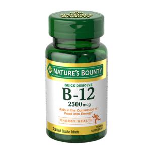 Nature-s-Bounty-B12-2500mcg-vitamins-house