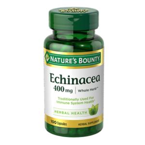 Nature's Bounty Echinacea 400 mg, 100 Ct
